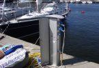 Električni priklop v marini