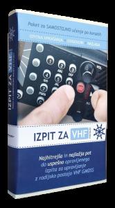 Paket za samostojno učenje po korakih (Izpit za VHF postajo)