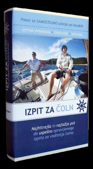 Paket za samostojno učenje po korakih (Izpit za čoln)