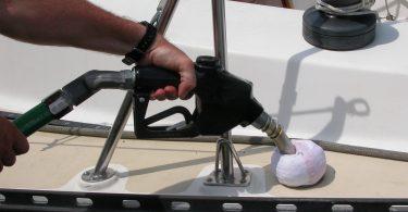 polnjenje rezervarja z gorivom
