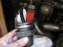 Filter za gorivo na motorju