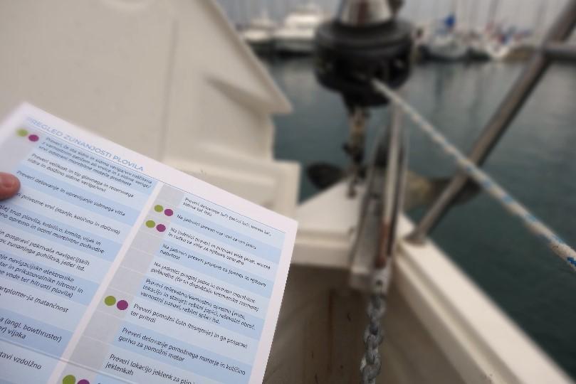 Ključna opravila pred izplutjem za varno plovbo